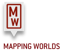 Mapping Worlds Logo