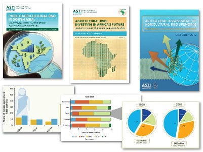 ASTI publications covers