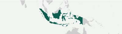 Country map Indonesia