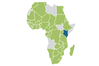 Map showing African countries click to view detailed timeseries data on that country